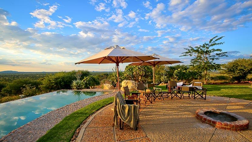 Otjiwa Safari Lodge, Otjiwa safari lodge, Namibie