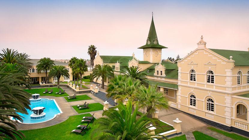 Swakopmund Hotel, Swakopmund Hôtel, Namibie