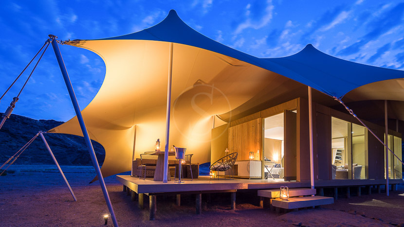 Hoanib Skeleton Coast Camp, Hoanib Camp, Namibie © Dana Allen - Wilderness