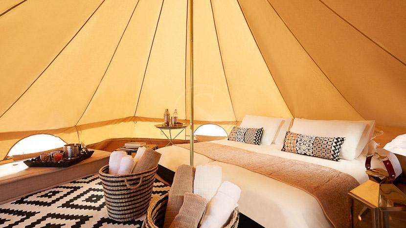 Magic Arabia Fix Camp, Camp privé dans le désert, Oman © Karim Hesham