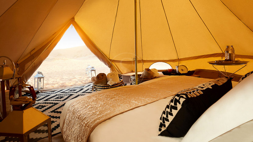 Magic Private Camp, Camp privé dans le désert, Oman © Karim Hesham
