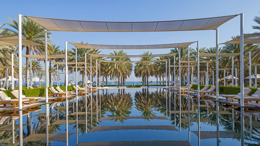 The Chedi Muscat, The Chedi Mascate, Oman © GHM Properties