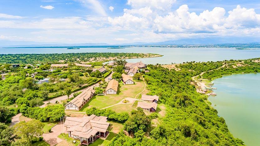 Mweya Safari Lodge, Mweya Safari Lodge, Ouganda
