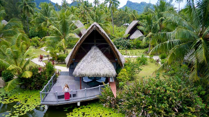 Maitai Lapita Village, Hôtel Maitai Huahine, Polynésie © Hôtels Maitai