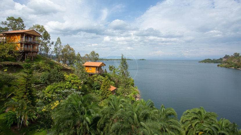 Cormoran Lodge, Cormoran Lodge de Kibuye, Rwanda © L. Guillot