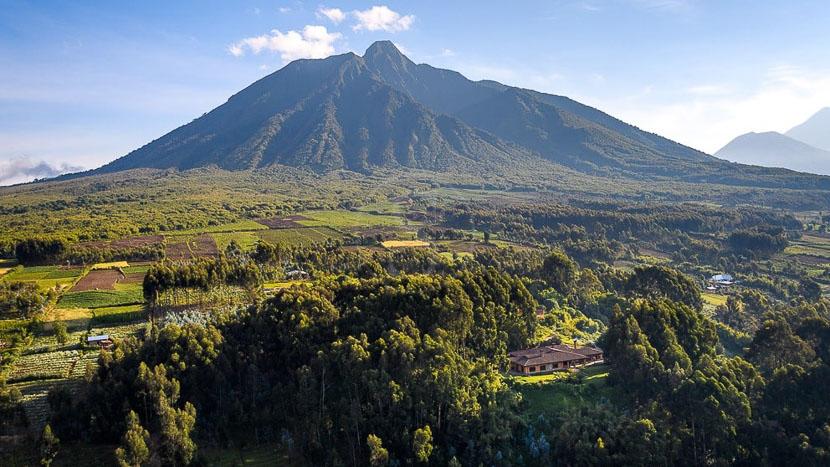 Sabyinyo Silverback Lodge, Parc des volcans, Rwanda © Sabyinyo Silverback Lodge