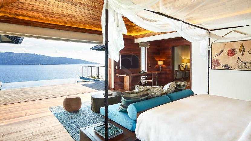Six Senses Zil Payson, Six Senses Zil Pasyon Pool Villa, Seychelles © Six Senses