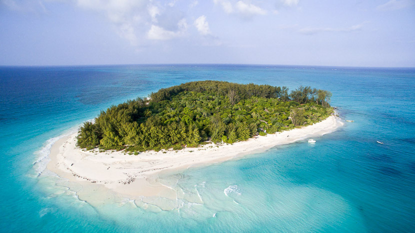 Mnemba Island, Mnemba Private Island, Tanzanie © &Beyond