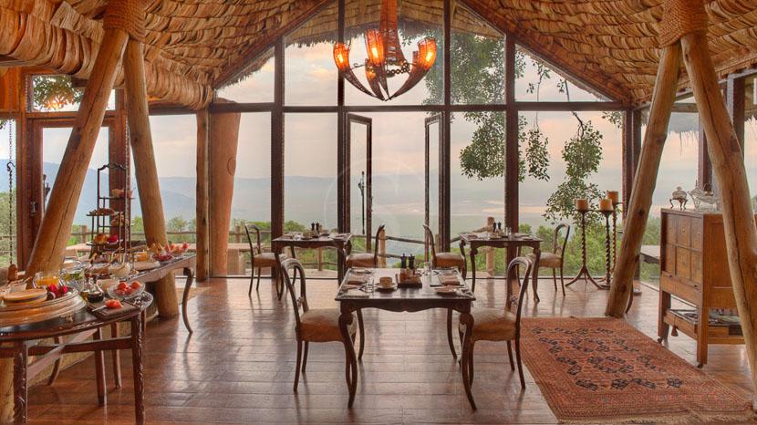 &Beyond Ngorongoro Crater Lodge, Ngorongoro Crater Lodge, Tanzanie © &Beyond
