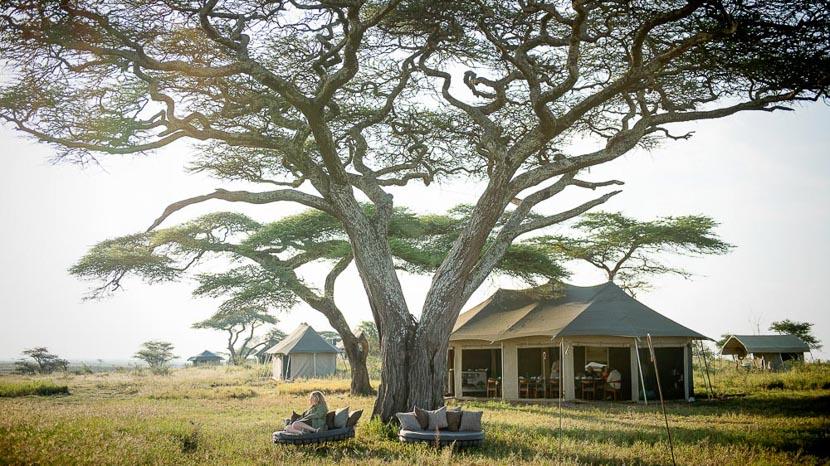 Namiri Plains, Namiri Plains Camp, Tanzanie © Asilia - Eliza Deacon