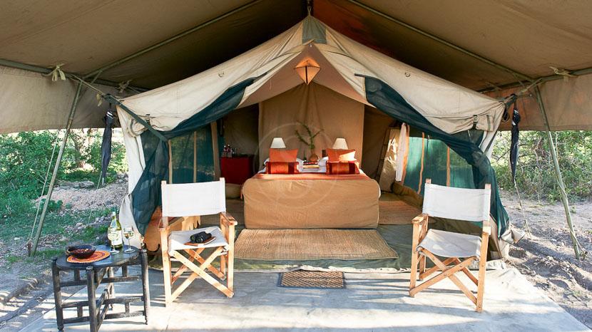 Ubuntu Camp, Ubuntu Migration Camp, Tanzanie © Asilia