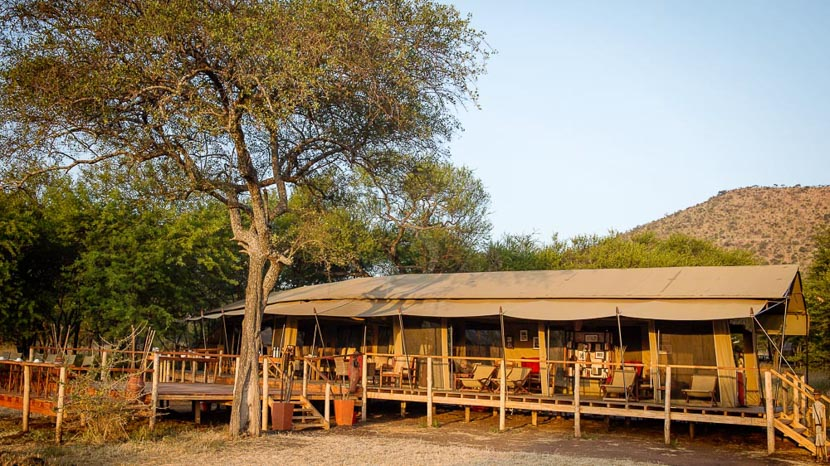 Dunia Camp, Safari à Kimondo Migration Camp, Tanzanie © Asilia - Eliza Deacon