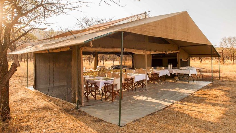 Kati Kati Tented Camp, Kati Kati Tented Camp, Tanzanie © TWC
