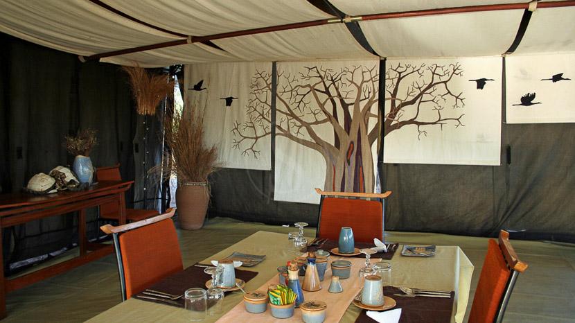 Kwihala Camp, Kwihala Camp à Ruaha, Tanzanie © Asilia
