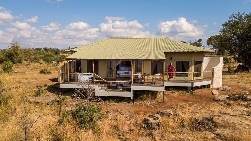 Lemala Mpingo Ridge Tented Lodge, Mpingo Camp, Tanzanie © Lemala