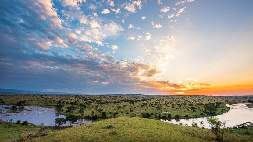 Mara River Post, Mara River Post, Tanzanie © Tawisa