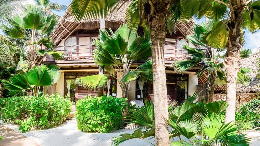 Sunshine Hotel, Jardins du Sunshine Hotel, Tanzanie