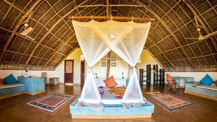 Sunshine Marine Lodge, Panorama Suite au Sunshine Marine Lodge, Tanzanie