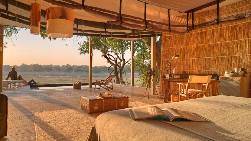 Chinzombo Camp, Chinzombo South Luangwa, Zambie © Time & Tide