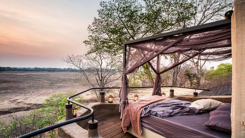 Puku Ridge Camp, Puku Ridge South Luangwa, Zambie © Puku Ridge