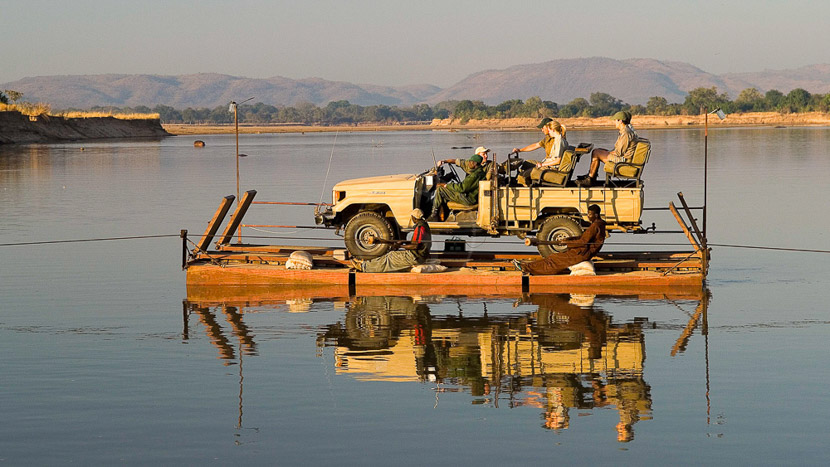 Nkwali Camp, Safari à South Luangwa, Zambie © Robin Pope Safaris