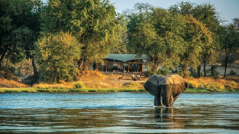 Sapi Explorers Camp, Sapi Explorer, Zimbabwe © Great Plains Conservation