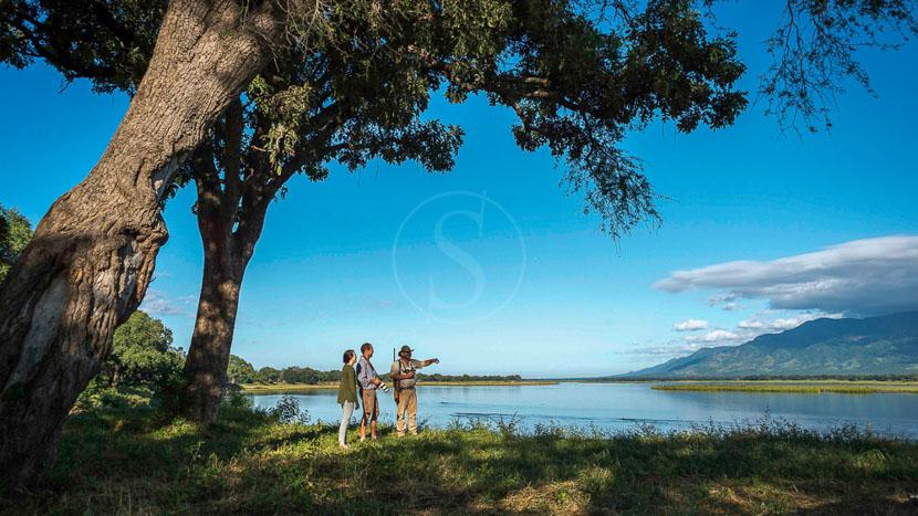 John's Camp, John's Camp Mana Pools, Zimbabwe © Dana Allen, Robin Pope