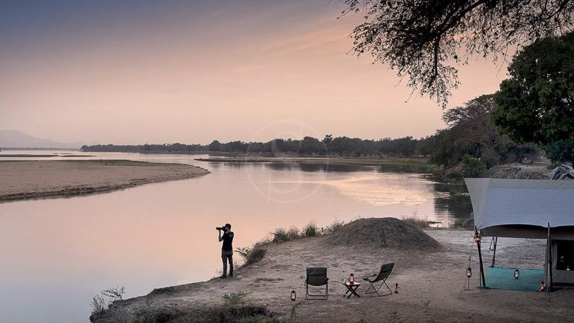 Zambezi Expeditions, Zambezi Expeditions Bush Camp, Zimbabwe © African Bush Camp
