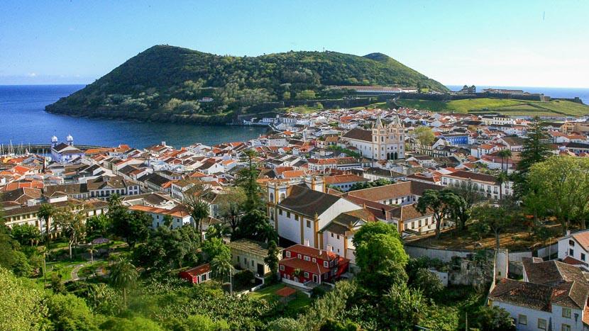 Açores, Angra do Heroismo sur l'île de Terceira, Açores