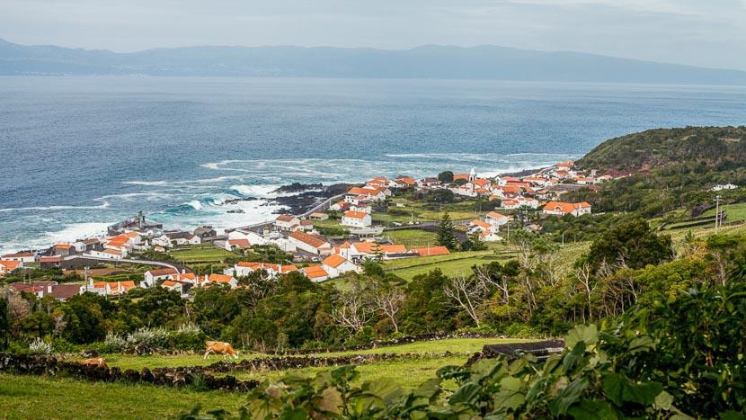 Ile de Pico , Village de Pico, Açores