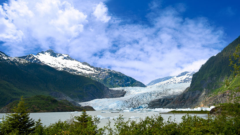 Juneau, Ambiance d'Alaska, Etats-Unis