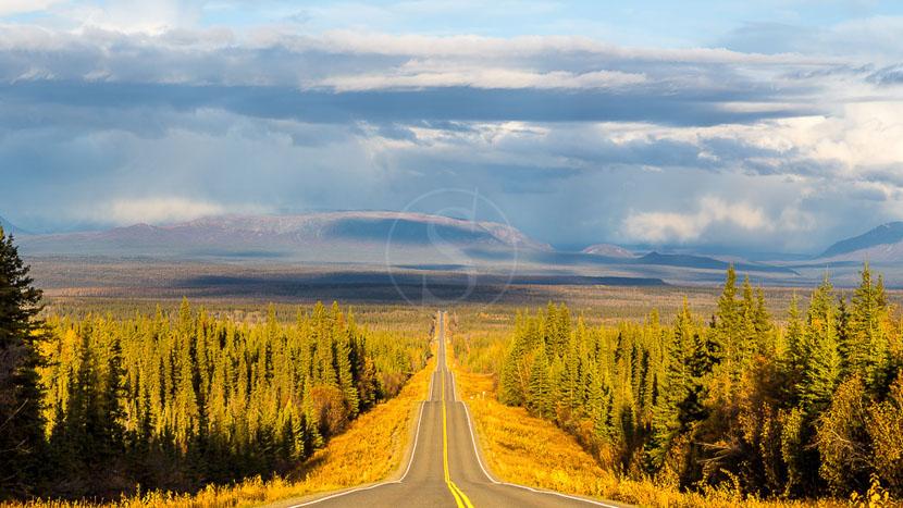 Parc national de Wrangell–Saint-Elias, Route Edgerton pour Chitina, région de Wrangell, Alaska
