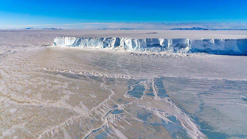 Mer de Ross, Mer de Ross, Antarctique © Shutterstock
