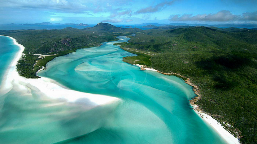 Croisière en catamaran sur Low Island, Qualia Great Barrier Reef, Australie