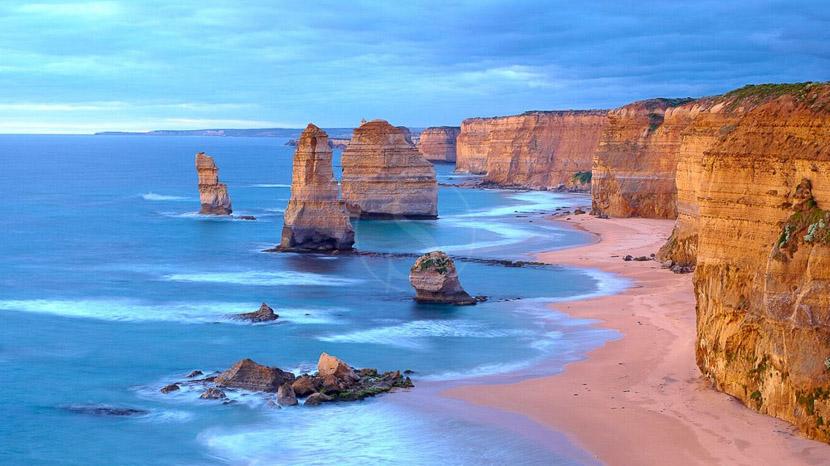 Great Ocean Road, 12 Apostles Air Adventure, Australie