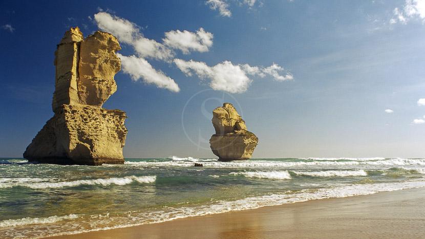 Great Ocean Road, Twelve Apostles, Gibson Steps, Australie