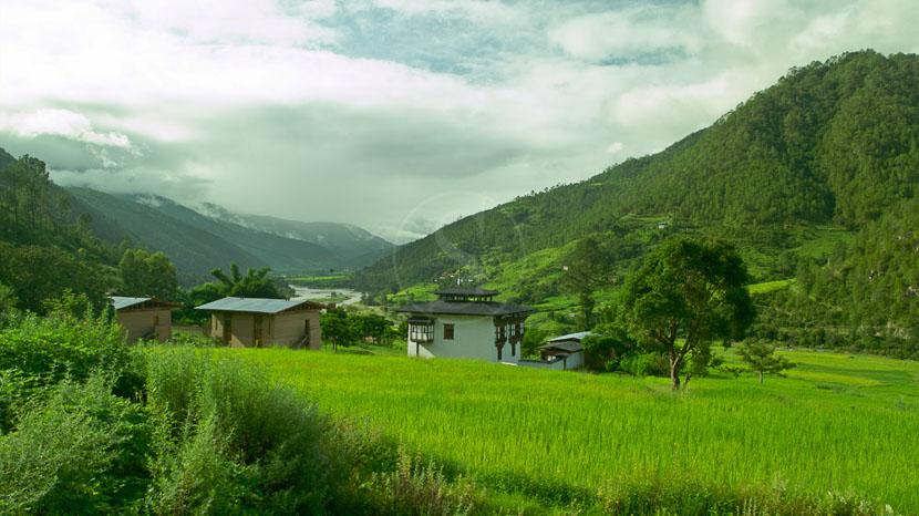 Bhoutan, Amankora Punakha, Bhoutan