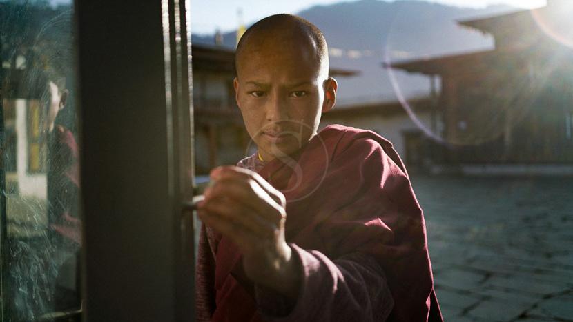 La vallée de Phobjika, Amankora Gangtey, Bhoutan © Simon Buxton