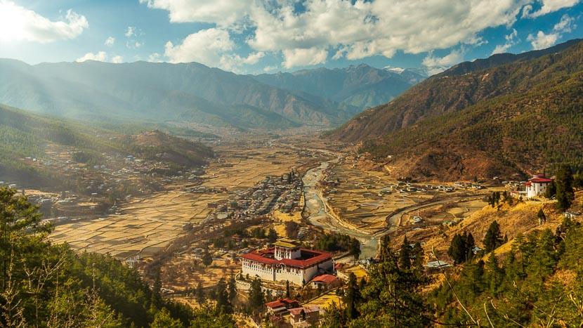 Paro, Région de Paro, Bhoutan © Shutterstock