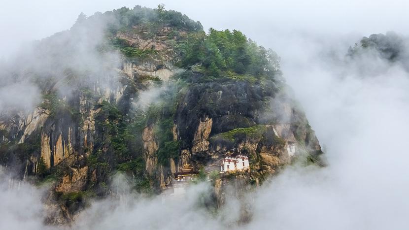Paro, Monastère de Taktshang, Tiger's Nest, Bhoutan © Shutterstock
