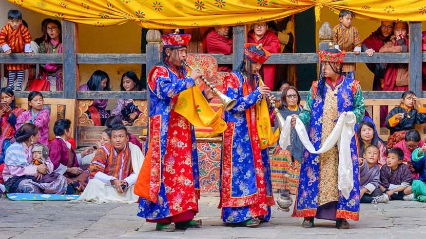 Paro, Festival dans la région de Paro, Bhoutan © Shutterstock