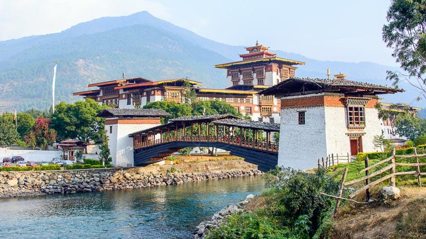Punakha, Amankora Punakha, Bhoutan © Simon Buxton