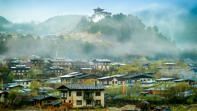 Vallée de Bumthang, Région de Bumthang, Bhoutan © Shutterstock
