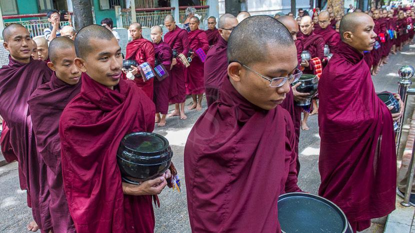 Amarapura, Monastère de Mahagandayon, Amarapura, Birmanie