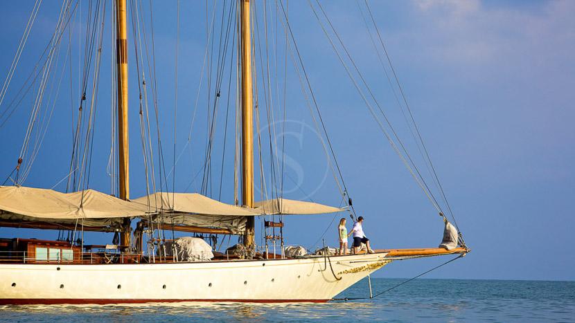 Archipel des Mergui, Croisière sur le SY Sunshine