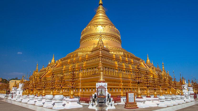 Bagan, Shwezigon Paya à Bagan, Birmanie © Shutterstock
