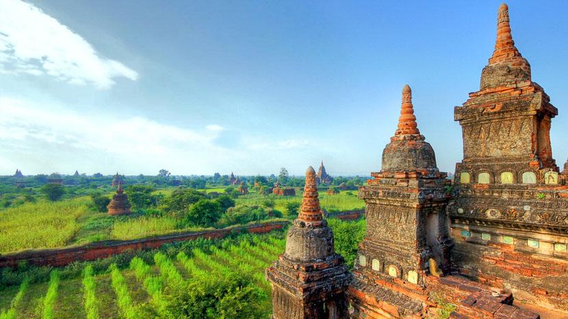 Bagan, Anciens temples à Bagan, Birmanie © Shutterstock