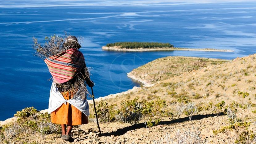 Bolivie, Lac Titicaca, Bolivie