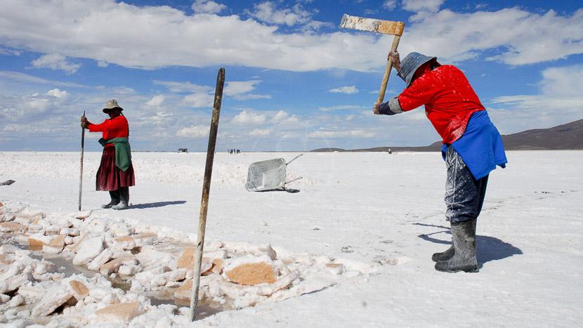 Salar d'Uyuni, Salar d'Uyuni, Bolivie © Alain Pons