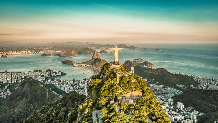 Rio de Janeiro, Baie de Rio de Janeiro, Brésil
